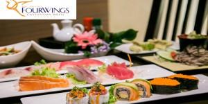 """โปรโมชั่น """"บุฟเฟ่ต์อาหารญี่ปุ่นระดับพรีเมี่ยม"""" ณ ห้องอาหารตันโจ ซูชิ บาร์ (วันนี้ - 30 ก.ย. 2558)"""