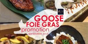 โปรโมชั่น Sankyodai Japanese Cuisine กับ Foie gras ตับห่านเกรดพรีเมียม (วันนี้ - 30 ก.ย. 58)